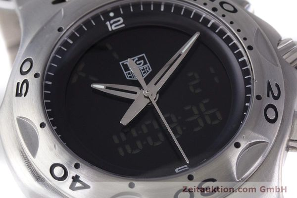 Used luxury watch Tag Heuer Kirium chronograph steel quartz Kal. ETA E20.321 Ref. CL111A  | 160265 02