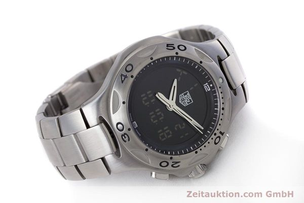 Used luxury watch Tag Heuer Kirium chronograph steel quartz Kal. ETA E20.321 Ref. CL111A  | 160265 03