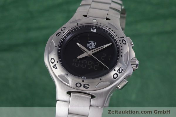 Used luxury watch Tag Heuer Kirium chronograph steel quartz Kal. ETA E20.321 Ref. CL111A  | 160265 04