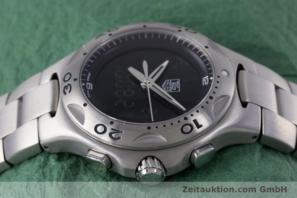 Used luxury watch Tag Heuer Kirium chronograph steel quartz Kal. ETA E20.321 Ref. CL111A  | 160265 05