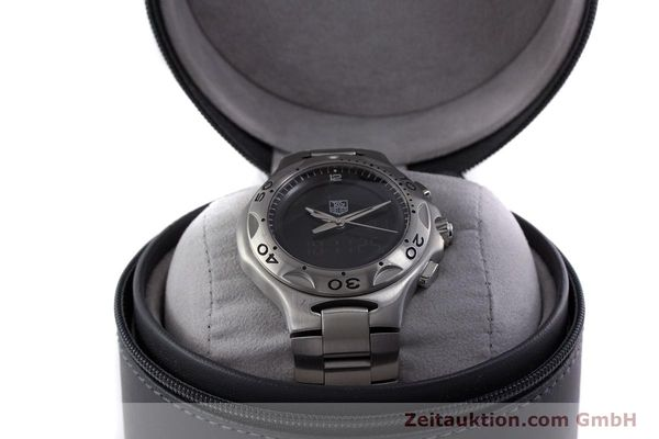 Used luxury watch Tag Heuer Kirium chronograph steel quartz Kal. ETA E20.321 Ref. CL111A  | 160265 07