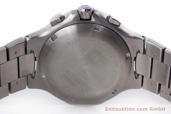 Used luxury watch Tag Heuer Kirium chronograph steel quartz Kal. ETA E20.321 Ref. CL111A  | 160265 09