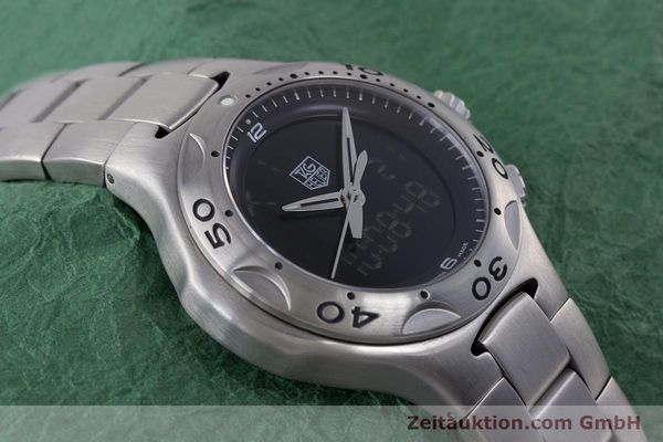 Used luxury watch Tag Heuer Kirium chronograph steel quartz Kal. ETA E20.321 Ref. CL111A  | 160265 13