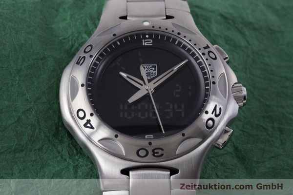 Used luxury watch Tag Heuer Kirium chronograph steel quartz Kal. ETA E20.321 Ref. CL111A  | 160265 14