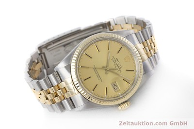 ROLEX DATEJUST STEEL / GOLD AUTOMATIC KAL. 3035 LP: 8800EUR [160275]