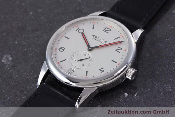Used luxury watch Nomos Club steel automatic Kal. Zeta  | 160277 01