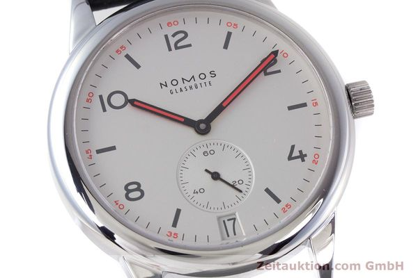 Used luxury watch Nomos Club steel automatic Kal. Zeta  | 160277 02