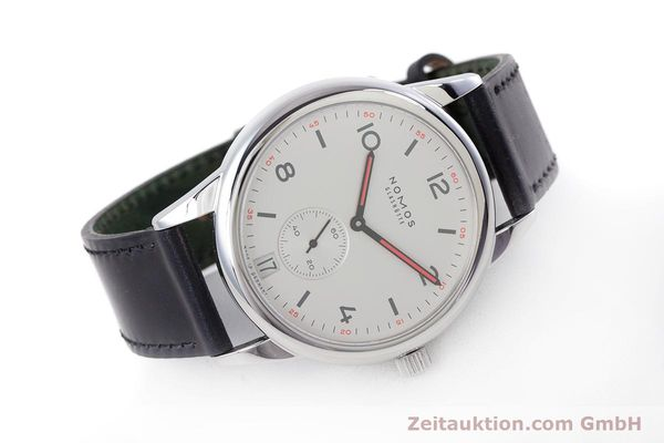 Used luxury watch Nomos Club steel automatic Kal. Zeta  | 160277 03