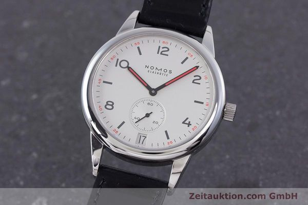 Used luxury watch Nomos Club steel automatic Kal. Zeta  | 160277 04