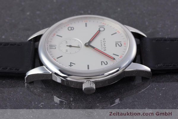 Used luxury watch Nomos Club steel automatic Kal. Zeta  | 160277 05