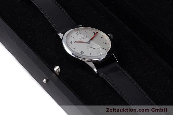 Used luxury watch Nomos Club steel automatic Kal. Zeta  | 160277 07