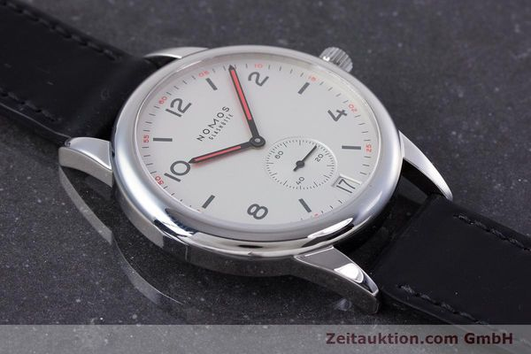 Used luxury watch Nomos Club steel automatic Kal. Zeta  | 160277 15