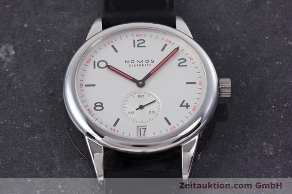 Used luxury watch Nomos Club steel automatic Kal. Zeta  | 160277 16