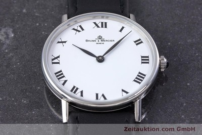 BAUME & MERCIER STEEL MANUAL WINDING KAL. ETA 7001 [160278]