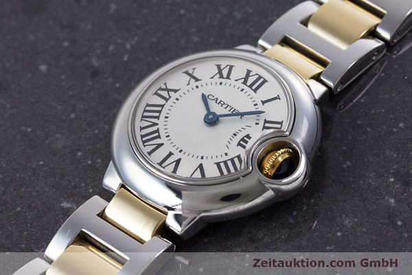 Used luxury watch Cartier Ballon Bleu de Cartier steel / gold quartz Kal. 057 Ref. 3009  | 160280 01
