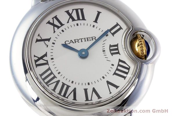 Used luxury watch Cartier Ballon Bleu de Cartier steel / gold quartz Kal. 057 Ref. 3009  | 160280 02