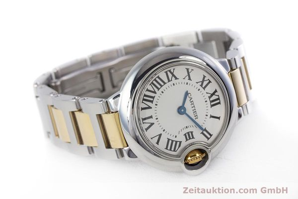 Used luxury watch Cartier Ballon Bleu de Cartier steel / gold quartz Kal. 057 Ref. 3009  | 160280 03