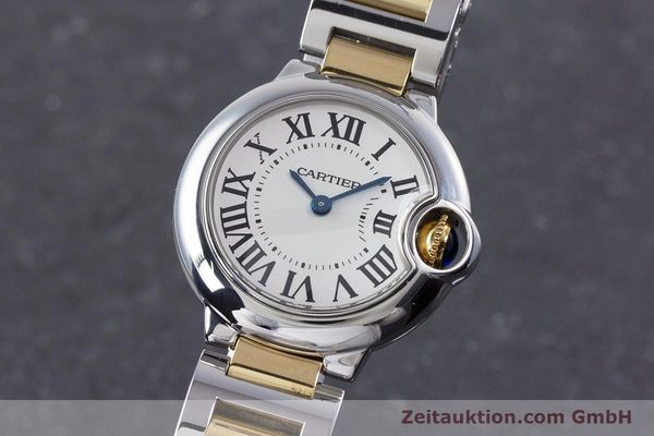 Used luxury watch Cartier Ballon Bleu de Cartier steel / gold quartz Kal. 057 Ref. 3009  | 160280 04