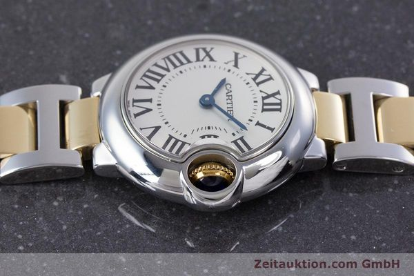 Used luxury watch Cartier Ballon Bleu de Cartier steel / gold quartz Kal. 057 Ref. 3009  | 160280 05