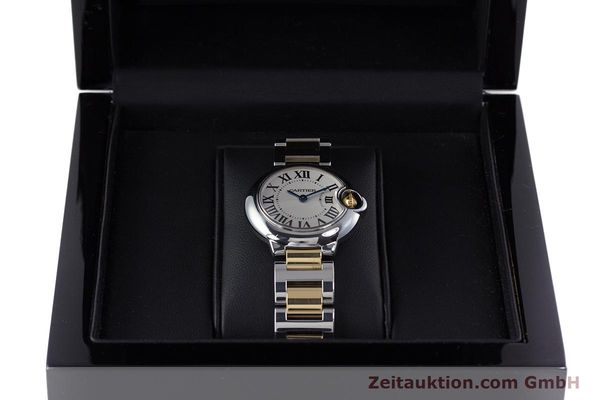 Used luxury watch Cartier Ballon Bleu de Cartier steel / gold quartz Kal. 057 Ref. 3009  | 160280 07