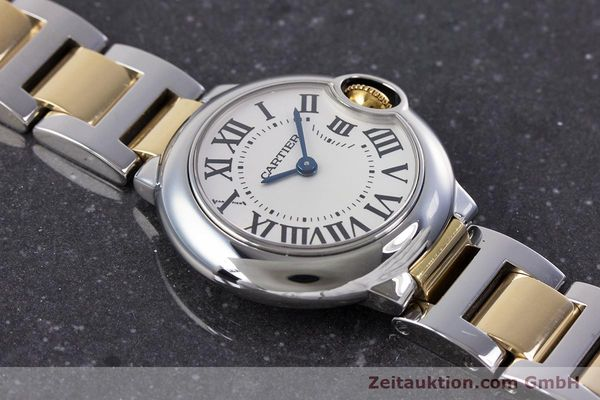Used luxury watch Cartier Ballon Bleu de Cartier steel / gold quartz Kal. 057 Ref. 3009  | 160280 12