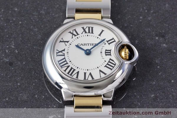 Used luxury watch Cartier Ballon Bleu de Cartier steel / gold quartz Kal. 057 Ref. 3009  | 160280 13
