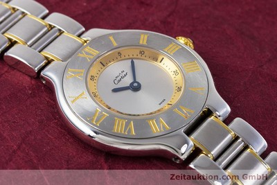 CARTIER RONDE SOLO ACIER / OR QUARTZ KAL. 90.06 [160281]