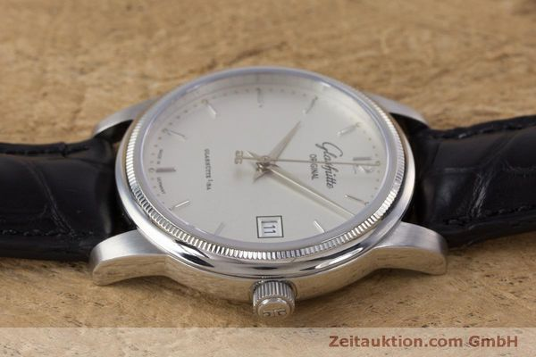 Used luxury watch Glashütte Senator steel automatic Kal. GUB 39  | 160298 05