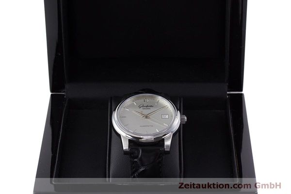 Used luxury watch Glashütte Senator steel automatic Kal. GUB 39  | 160298 07