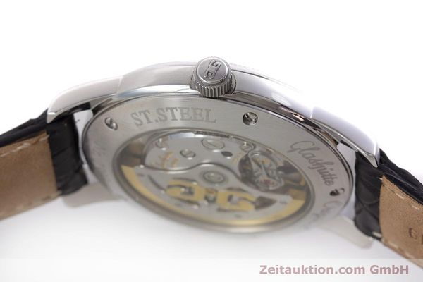 Used luxury watch Glashütte Senator steel automatic Kal. GUB 39  | 160298 08