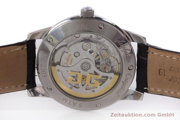Used luxury watch Glashütte Senator steel automatic Kal. GUB 39  | 160298 09