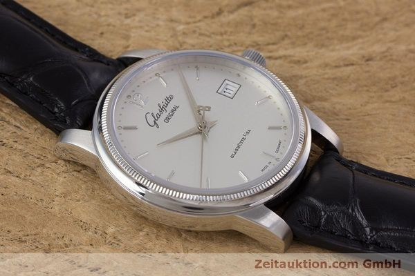 Used luxury watch Glashütte Senator steel automatic Kal. GUB 39  | 160298 13