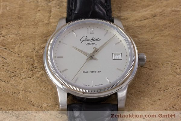 Used luxury watch Glashütte Senator steel automatic Kal. GUB 39  | 160298 14