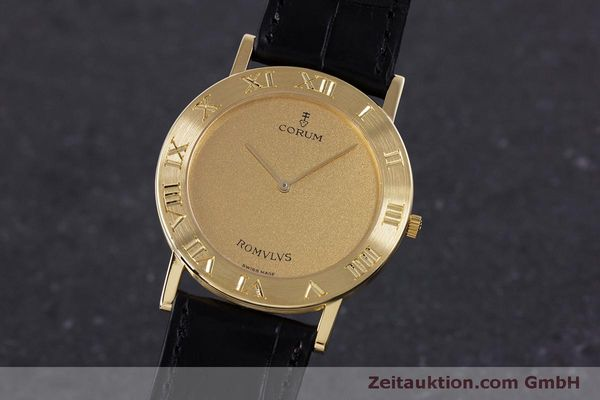 CORUM ROMULUS OR 18 CT QUARTZ KAL. ETA 210.001 [160304]