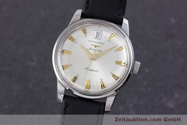 LONGINES CONQUEST ACIER AUTOMATIQUE KAL. L 633.5 ETA 2824-2 LP: 890EUR [160308]