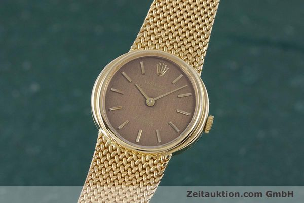 ROLEX CELLINI 18 CT GOLD MANUAL WINDING KAL. 1600 LP: 13350EUR [160310]