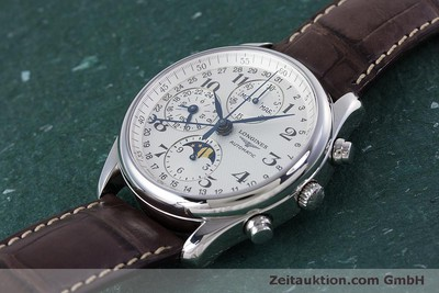 LONGINES MASTER COLLECTION CHRONOGRAPH STEEL AUTOMATIC KAL. L678.2 ETA 7751 LP: 2770EUR [160320]