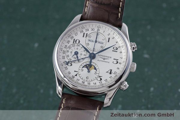 LONGINES MASTER COLLECTION CHRONOGRAPHE ACIER AUTOMATIQUE KAL. L678.2 ETA 7751 LP: 2770EUR [160320]