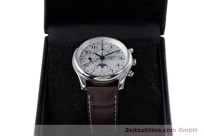 LONGINES MASTER COLLECTION KALENDER CHRONOGRAPH MONDPHASE L2.673.4 NP: 2770,- Euro [160320]