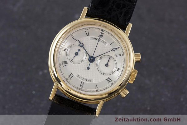 BREGUET CLASSIQUE CHRONOGRAPH 18 CT GOLD MANUAL WINDING KAL. 865 LP: 42200EUR [160321]