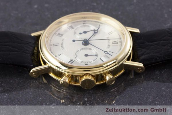Used luxury watch Breguet Classique chronograph 18 ct gold manual winding Kal. 865 Ref. 3237  | 160321 05