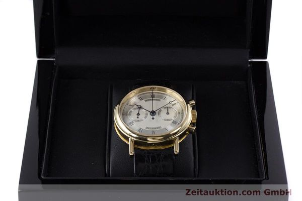 Used luxury watch Breguet Classique chronograph 18 ct gold manual winding Kal. 865 Ref. 3237  | 160321 07