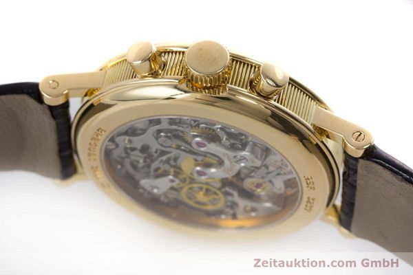 Used luxury watch Breguet Classique chronograph 18 ct gold manual winding Kal. 865 Ref. 3237  | 160321 08