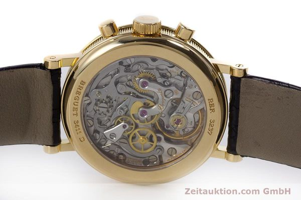 Used luxury watch Breguet Classique chronograph 18 ct gold manual winding Kal. 865 Ref. 3237  | 160321 09