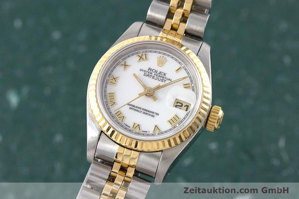 ROLEX LADY DATEJUST STEEL / GOLD AUTOMATIC KAL. 2135 LP: 6950EUR [160328]
