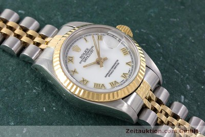 ROLEX LADY DATEJUST ACIER / OR AUTOMATIQUE KAL. 2135 LP: 6950EUR [160328]