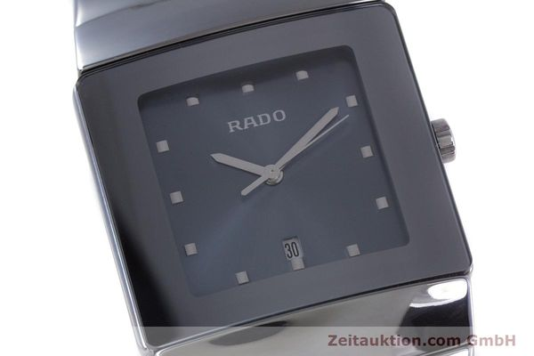 Used luxury watch Rado Diastar Ceramica ceramic quartz Kal. ETA 256.111 Ref. 152.0342.3  | 160334 02