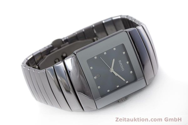 Used luxury watch Rado Diastar Ceramica ceramic quartz Kal. ETA 256.111 Ref. 152.0342.3  | 160334 03