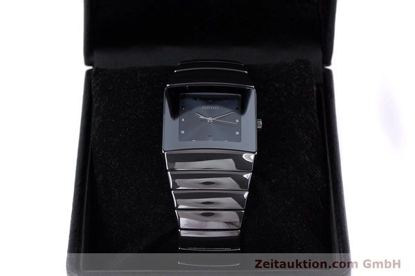 Used luxury watch Rado Diastar Ceramica ceramic quartz Kal. ETA 256.111 Ref. 152.0342.3  | 160334 07
