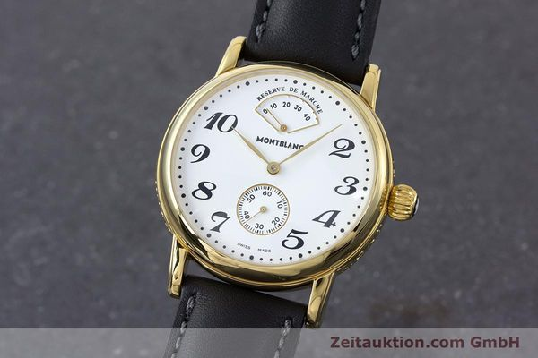 MONTBLANC MEISTERSTÜCK GOLD-PLATED MANUAL WINDING KAL. 4810901 ETA 7001 [160340]